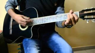 Dil Kare By Atif Aslam, Guitar Cover And Lesson.