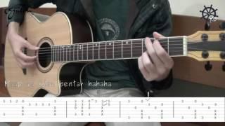 Akustik Gitar - Fingerstyle (Spongebob Squarepants)