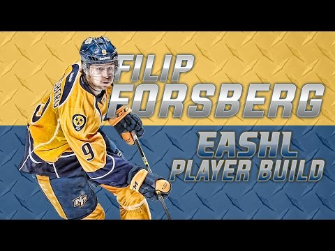 NHL 15: Power Forward Player Build | Filip Forsberg | High Offense, Physical