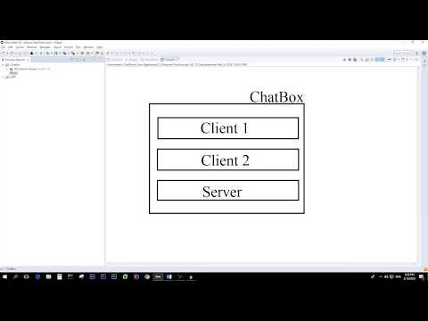 Easy Java Chat Application In Eclipse For Middle School Students