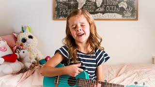 Make You Feel My Love (Adele) - Cover by 7-Year-Old Claire Crosby