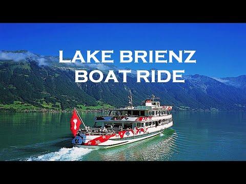 Lake Brienz (Brienzersee) - Interlaken To Brienz Boat Ride - Switzerland April