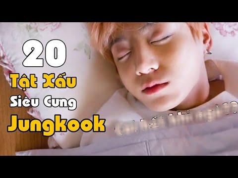 Jungkook Thường Cởi Hết Quần Áo Khi Ngủ Mớ? | 20 Tật Xấu Siêu Cưng Của Jungkook (BTS)