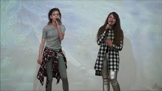 Песня Кажется  OPEN KIDS  в исполнение учениц 8 класса Лабанова Женя и Бобьякова Карина