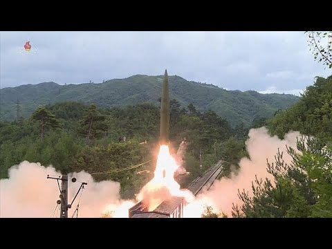 شاهد: كوريا الشمالية تطلق صواريخ بالستية من قاذفات مثبّتة داخل قطار…  - نشر قبل 3 ساعة