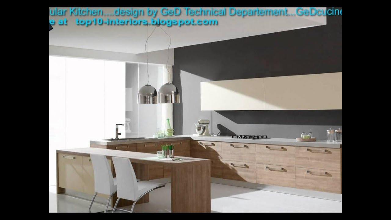Top10 modular kitchen interior designs part5 youtube for Cheap and best interior designs