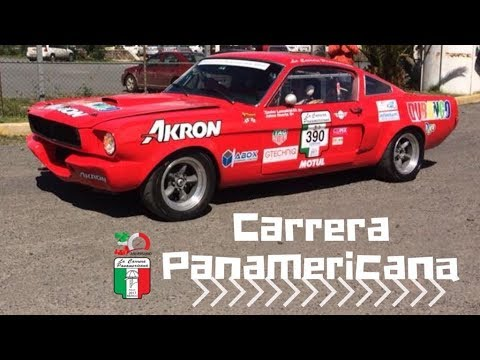 La Carrera Panamericana 30 Aniversario Salida del Autodromo de Queretaro