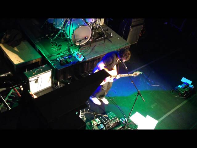 Nick Marzock Rippin up an acoustic with a Looper pedal at Jergels 10-24-2013