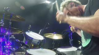 """Josh Freese drum cam playing """"The Opioid Diaries"""" with The Offspring. Sep. 2021"""