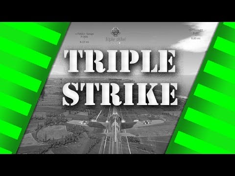 WarThunder - Fw190 A-5/U12 Triple Strike - Arcade Gameplay