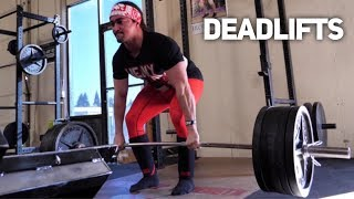 HEAVY BENCH & DEADLIFTS At Untamed Strength (Ft. Alan Thrall & Silent Mike)