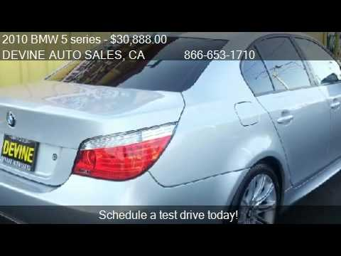 2010 bmw 5 series 535i for sale in modesto ca 95350 youtube. Black Bedroom Furniture Sets. Home Design Ideas
