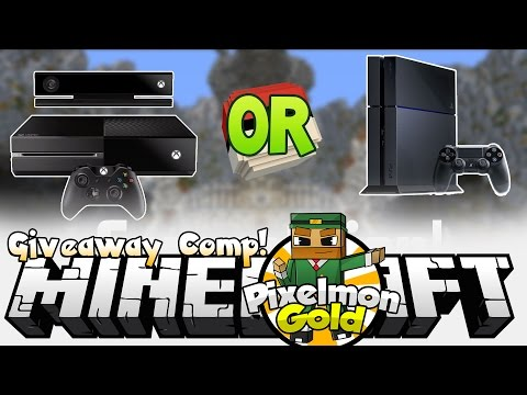 Minecraft Pixelmon Gold #50 '50th Episode XBOX ONE + PS4 Giveaway'