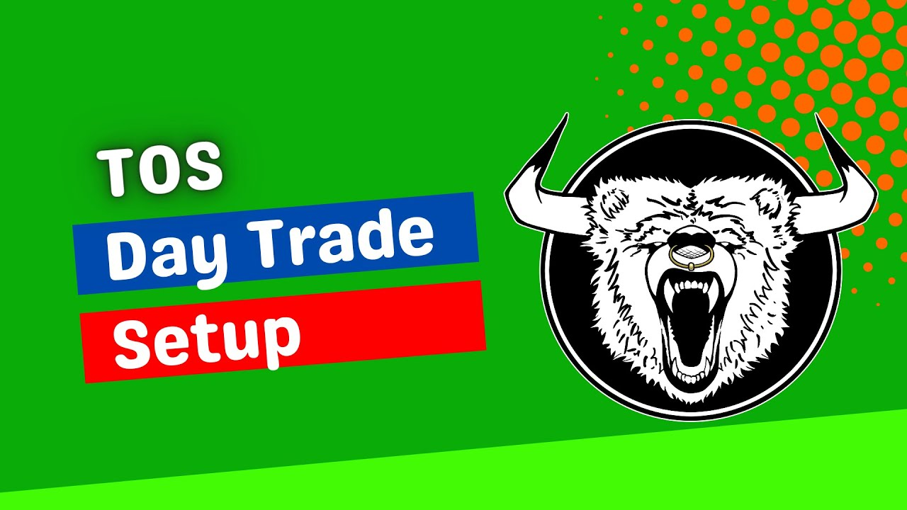 ThinkorSwim Day Trading Setup and ThinkorSwim Day Trading Studies