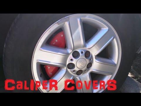 Range Rover Caliper Covers Mgp Red Gloss Upgrade Youtube