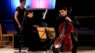 Rachmaninov Cello Sonata Op.19, I. Lento - Allegro moderato (clip)