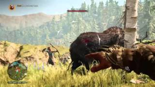 Far Cry Primal Taming the Great Scar Bear