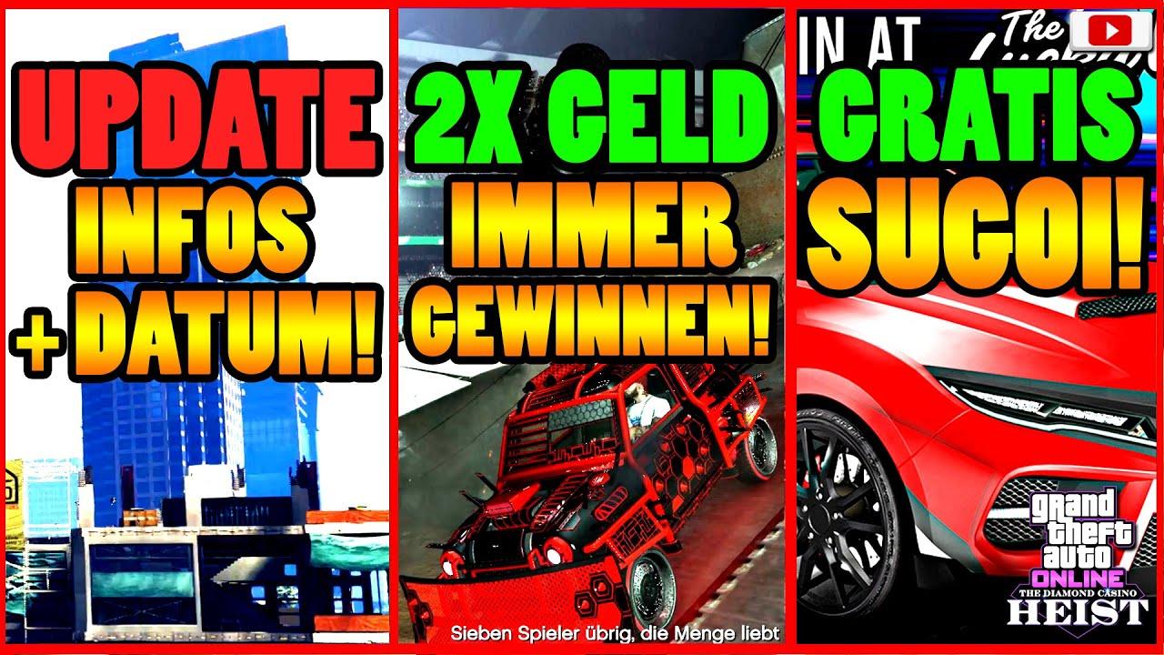 🙌Alle Neuen Inhalte!🙌 UPDATE INFOS + DATUM! 2X GELD! GRATIS SUGOI + Mehr! GTA 5 Online Casino Heist