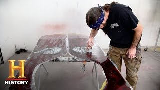 Counting Cars: Meet Ryan, the Shop's Lead Painter | History