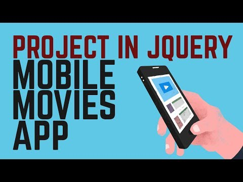 Learn Project in jQuery mobile | How to build Mobile Movies App
