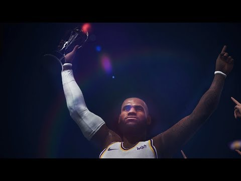 NBA LIVE 19 - LAKERS vs RAPTORS Gameplay | Finals Celebration