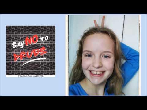 100% Drug Free Selfie - Evans City Middle School