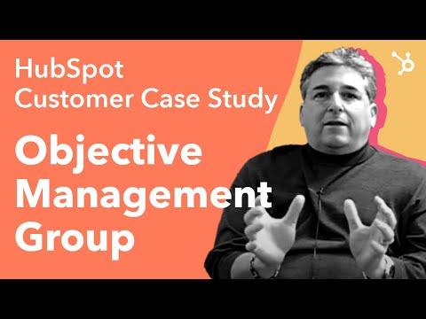 HubSpot Customer Case Study - Objective Management Group