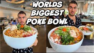 IMPOSSIBLE 10LB POKE BOWL CHALLENGE! Hawaiian Poke | Jackson Mississippi | Man Vs Food