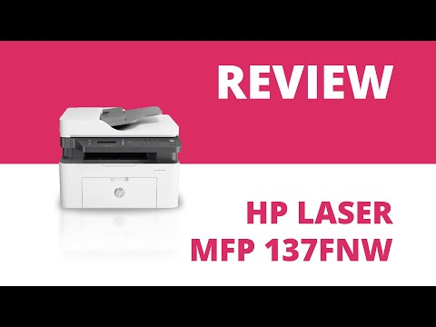HP Laser MFP 137fnw A4 Mono Multifunction Laser Printer