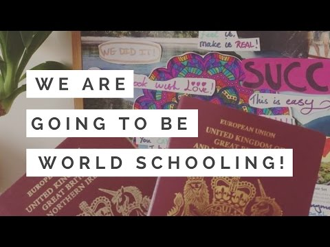 WE ARE GOING TO WORLD SCHOOL! | Home Education