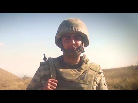 Азербайджанские солдаты продолжают очищать земли от оккупантов - Карабах Война