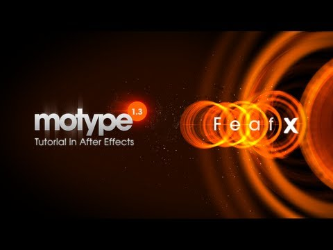 Killer Titles in After Effects with Motype & Nodes from Yanobox - Tutorial