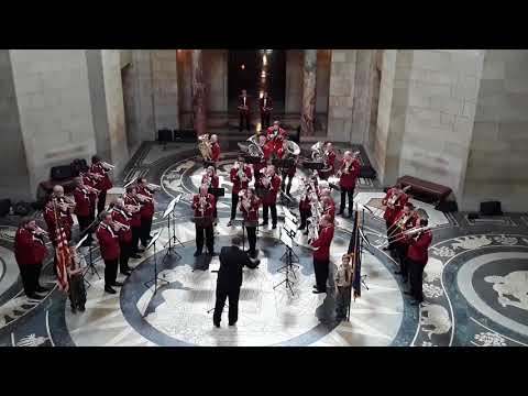 Nebraska Brass Band at the State Capitol