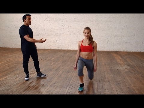 Lunges For Beginners: How to do a Lunge the Right Way