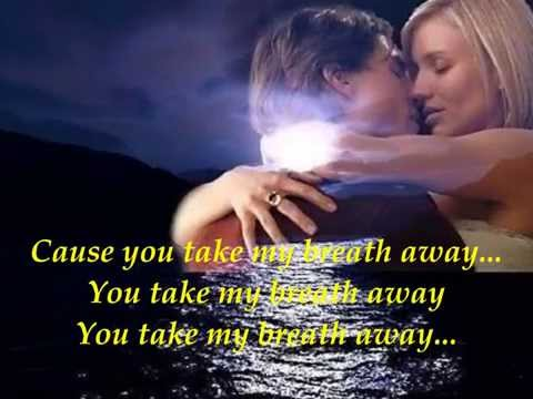 You Take My Breath Away~Rex Smith~w/ LYRICS