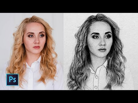 How To Turn Your Photo into Sketch Easily in Photoshop thumbnail