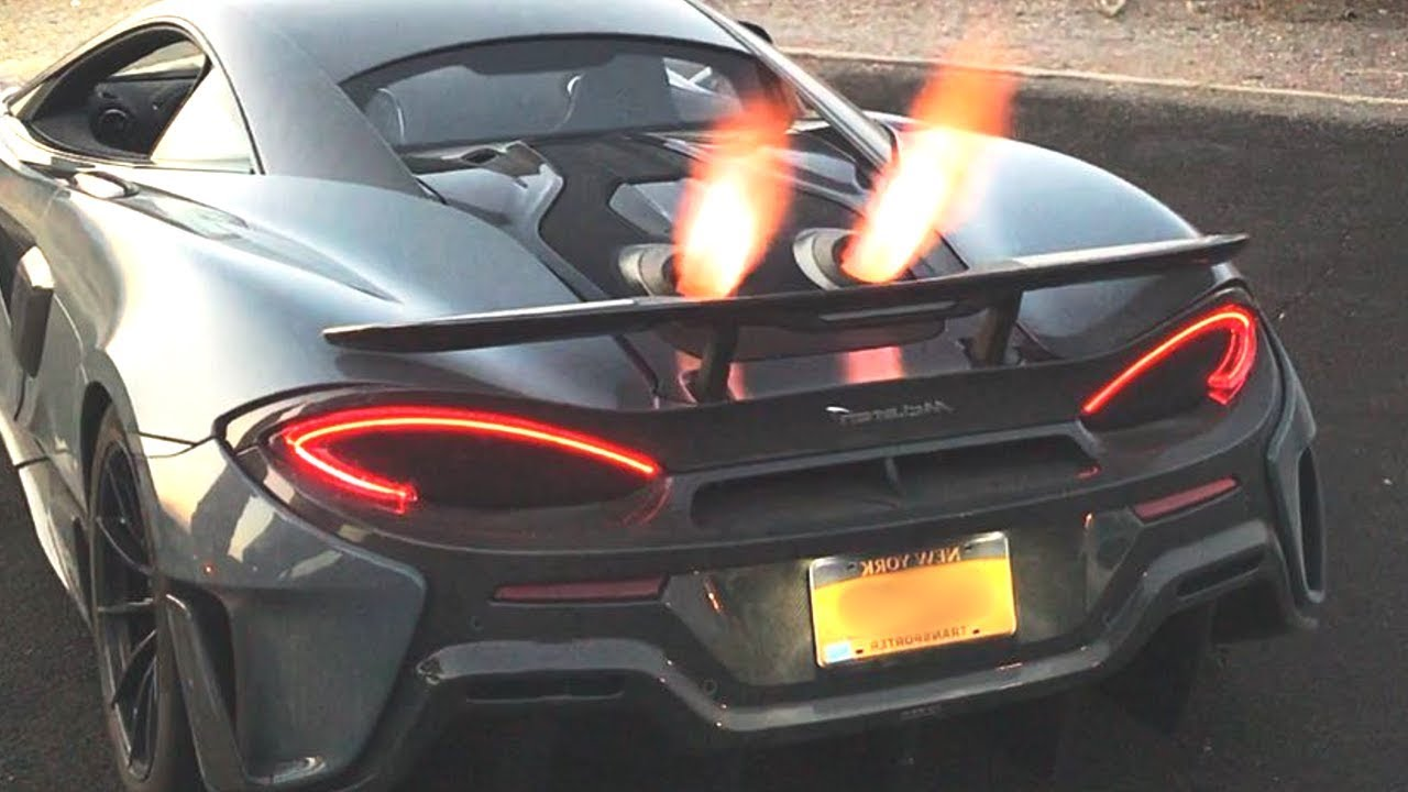 600lt mclaren crazy exhaust backfire sound compilation - youtube