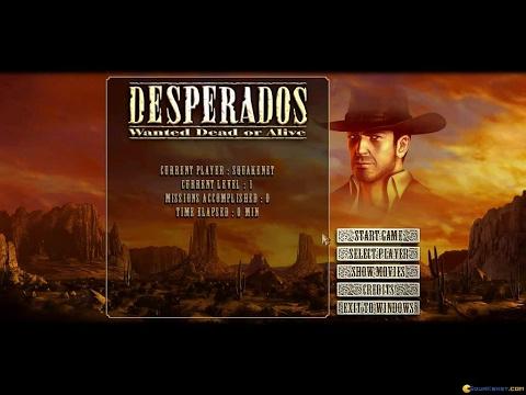 desperados wanted dead or alive complet francais