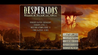 Desperados: Wanted Dead or Alive gameplay (PC Game, 2001)