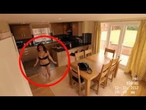 هذه الخادمة لم تكن تعلم أن هناك كاميرات في المكان.. أنظروا ماذا فعلت !!