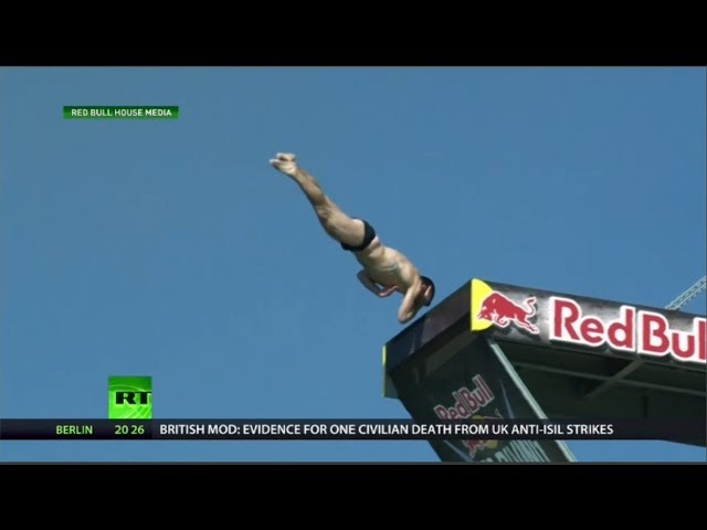 Most epic Red Bull cliff diving fails