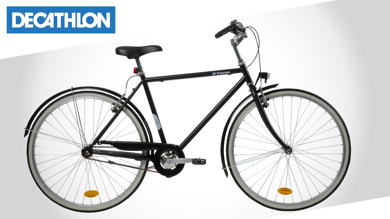 City Bike Elops 100 Di B Twin Decathlon Italia Youtube