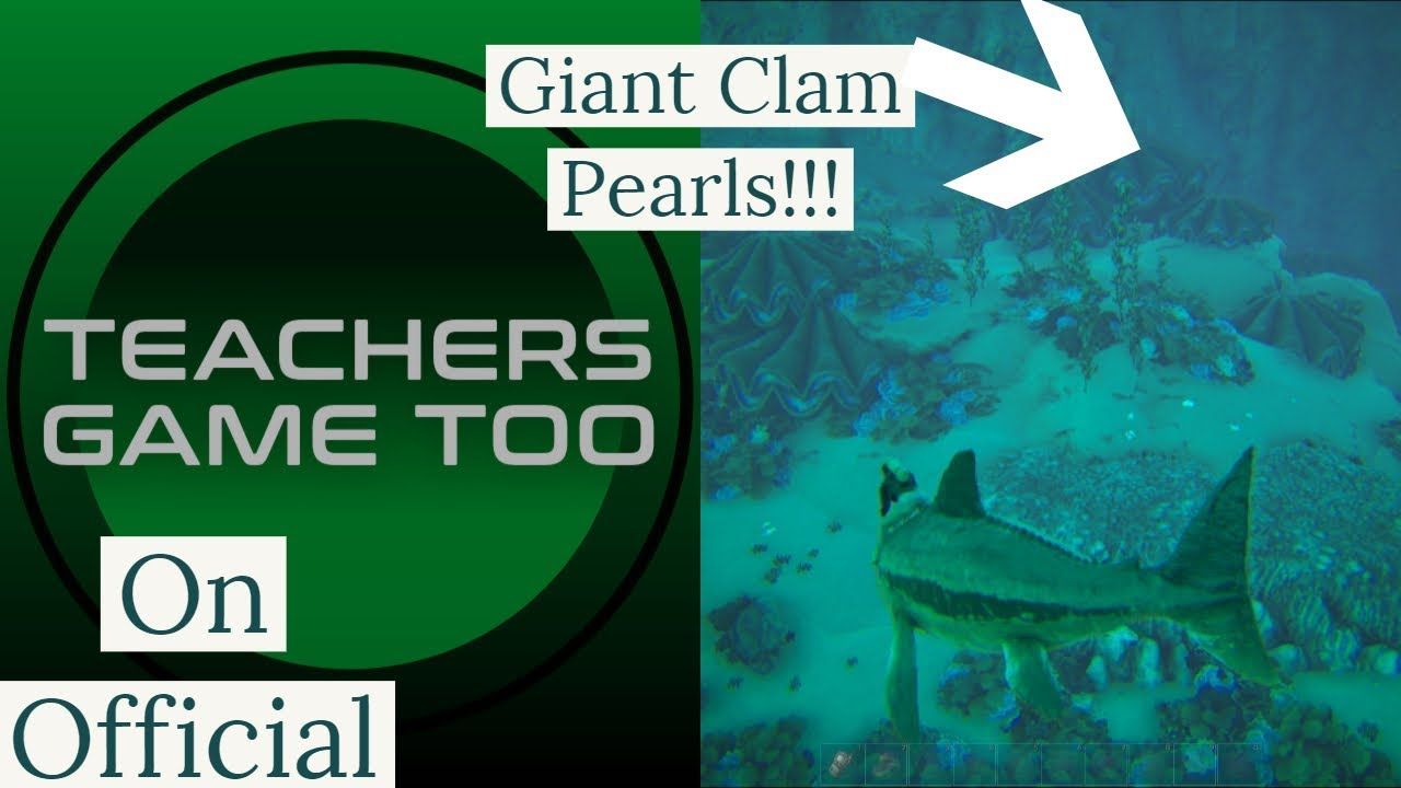Valguero Giant Clam Silica Pearls Location On Official Youtube Easy black pearl & silica pearl farming guide. valguero giant clam silica pearls location on official