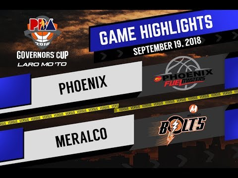 PBA Governors' Cup 2018 Highlights: Phoenix vs Meralco Sept 19, 2018