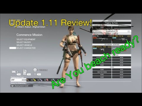 MGSV- Update 1.11 Review