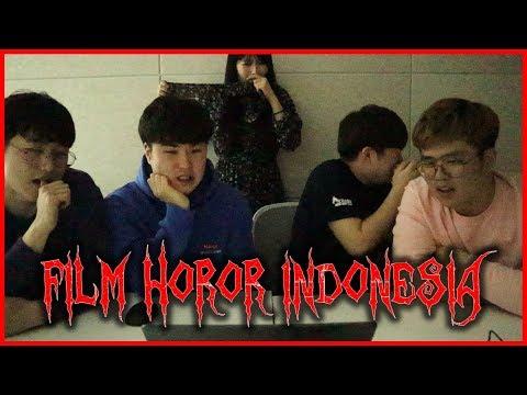 "[deg-degan]ORANG KOREA NONTON TRAILER FILM HOROR INDONESIA""SUZZANNA, PENGABDI SETAN"" 인도네시아 호러 공포영화!?"