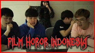 Download lagu [deg-degan]ORANG KOREA NONTON TRAILER FILM HOROR INDONESIA