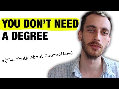 The Pros v. Cons of A Degree in Journalism.