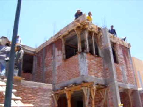 Colado de techos construccion de casa youtube for Construccion casas