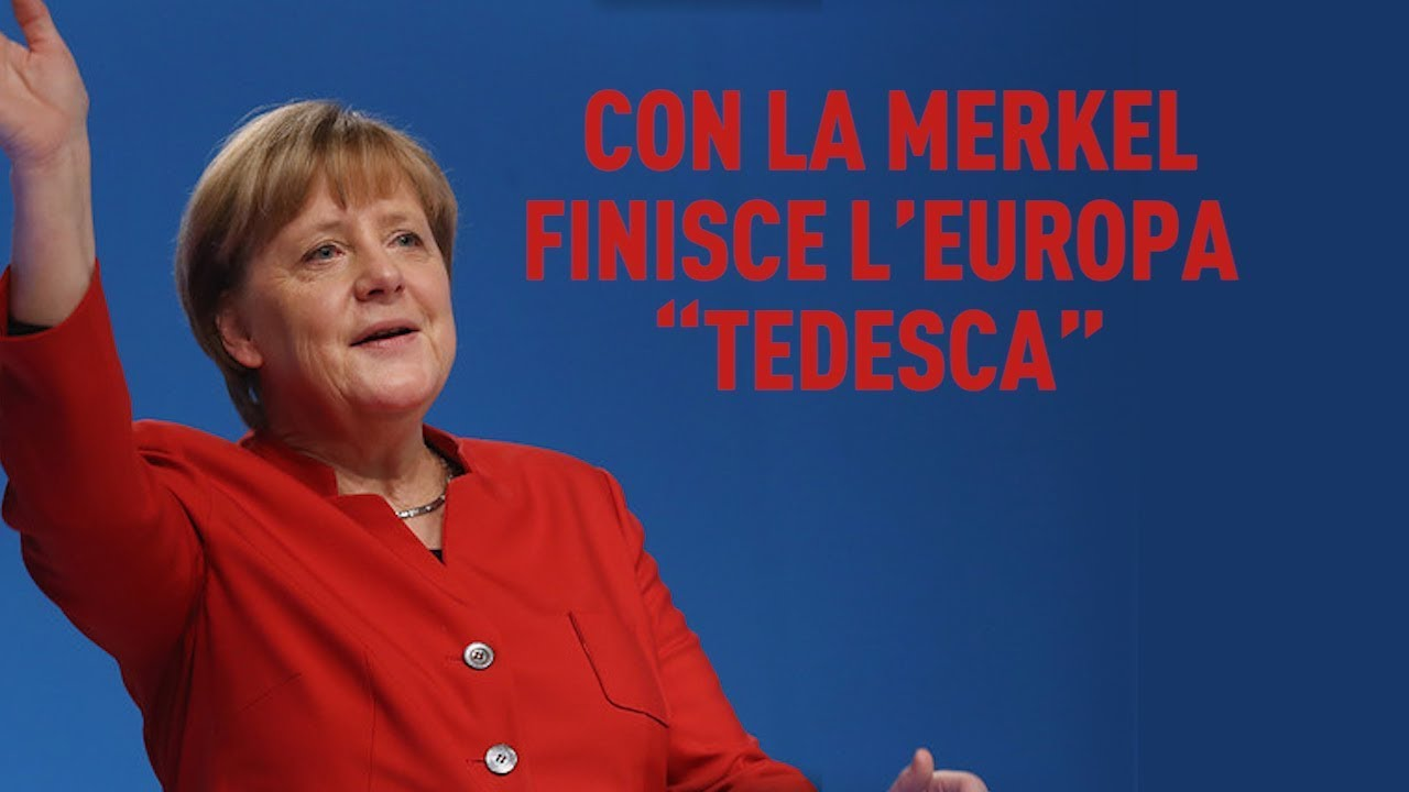 "PTV News 30.10.18 - Con la Merkel finisce l'Europa ""tedesca"""